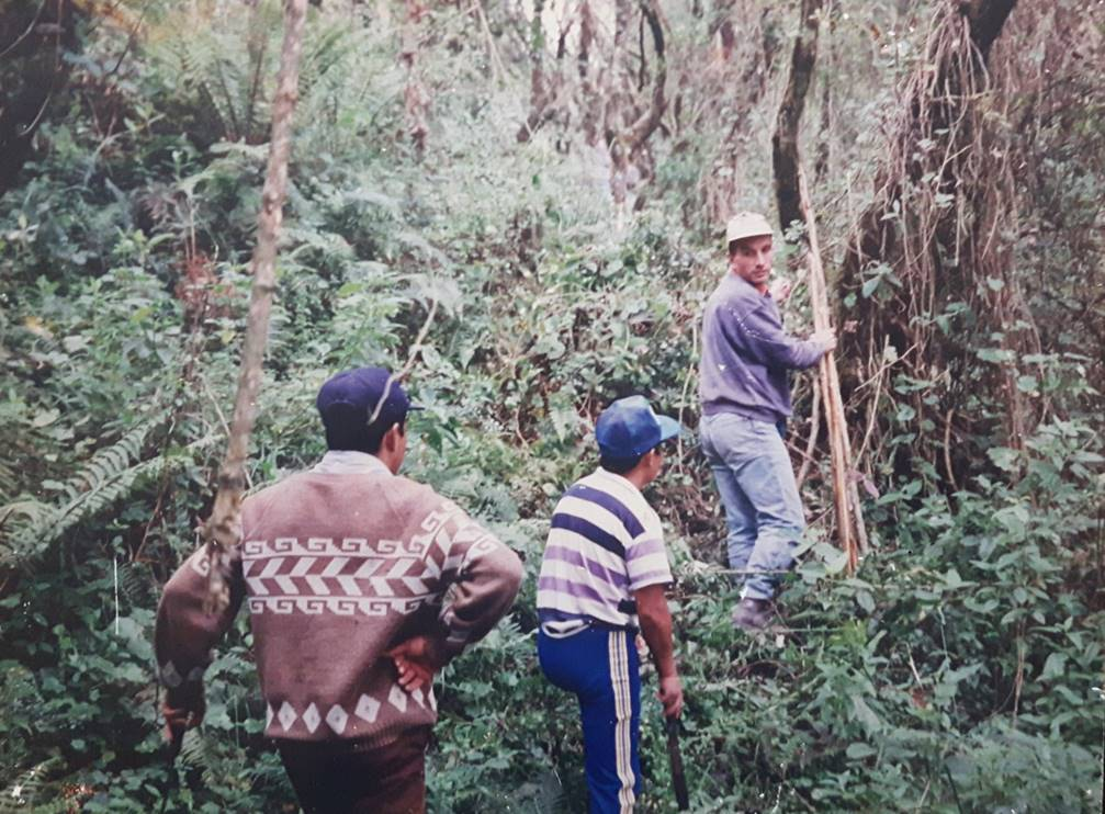 Community forest management in Ecuador, ca. 1993